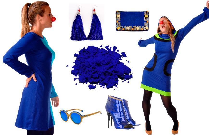 Como combinar un vestido azul aguamarina