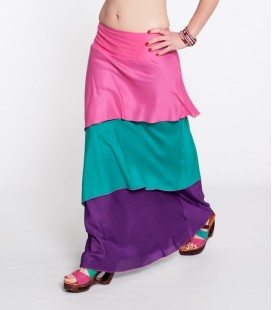 Three Color Skirt