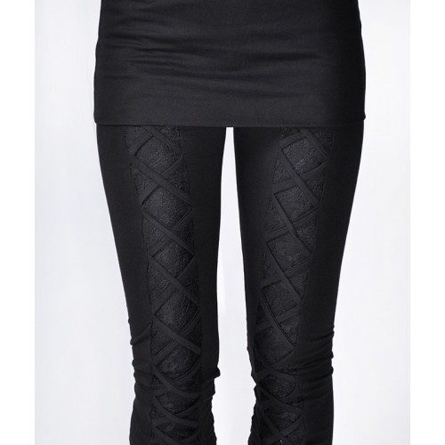 LEGGINS BRAID+LACE