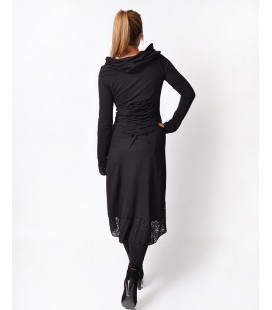 HOODIE DRESS LACE