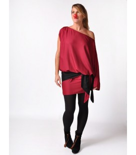 CUCA DRESS MARSALA