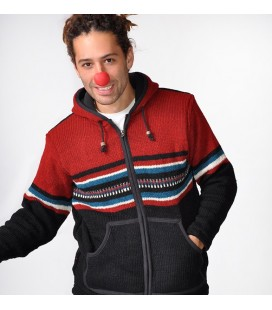 RED WOOLEN JACKET