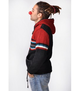 WOOL JACKET RED