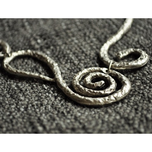 ETHNIC SPIRAL NECKLACE