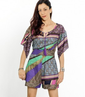 ETHNIC BELL PLAYSUIT