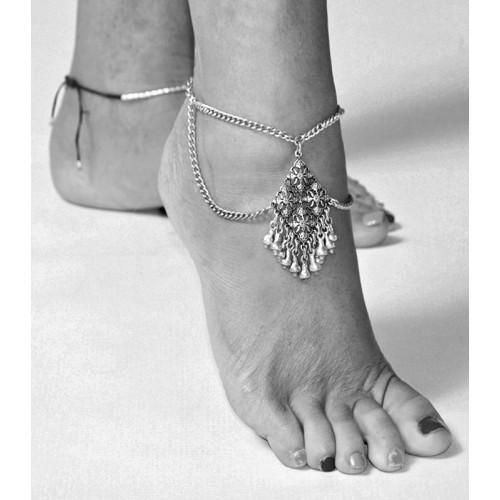 HANGING CHAINS ANKLE BRACELET