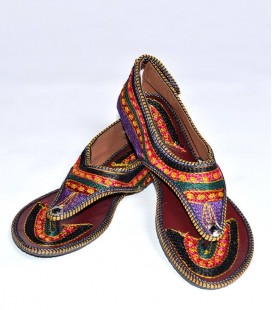 ETHNIC SANDALS  GOLDEN DOT