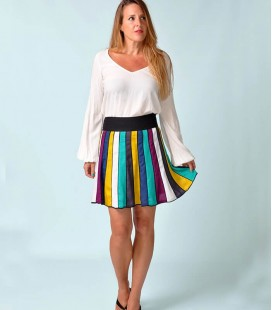 SHORT FLARED TABLES SKIRT COLORS