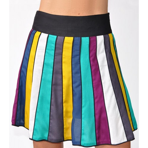 COLOR TABLES SKIRT