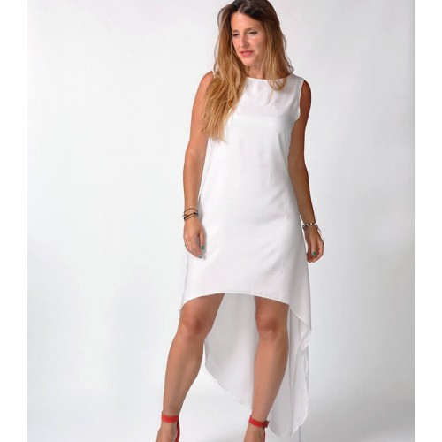 WHITE MOD RELOAD DRESS
