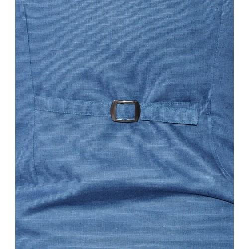 BLUE ARTI LINEN GILET