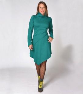 GREEN PIXIE WINTER DRESS