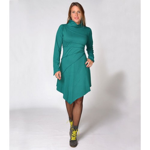 GREEN PIXIE WINTER DRESS
