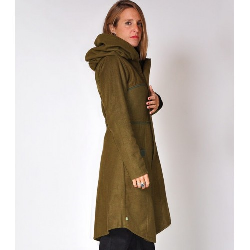 PIXIE LONG GREEN JACKET