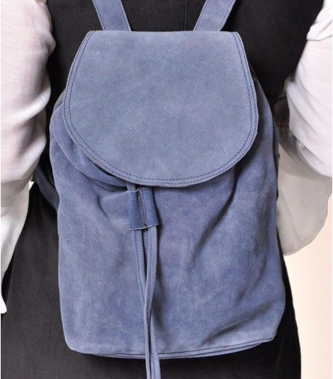 SUEDE LEATHER BACKPACK