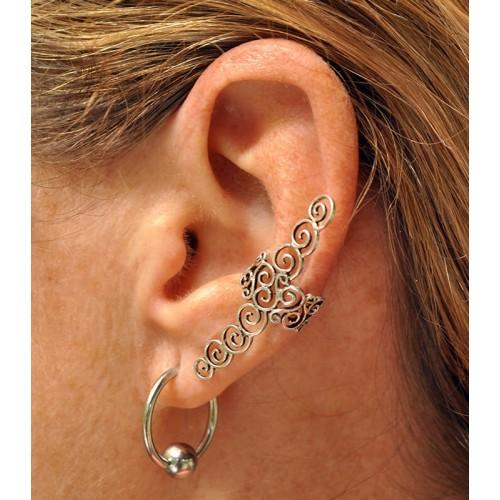 SPIRALS EAR CUFF