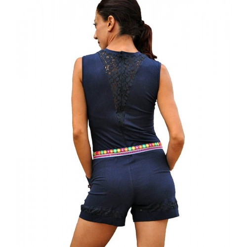 LACE ROMPER PLAYSUIT