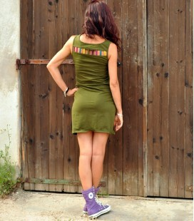 LITTLE MILITARY GREEN DRESS KODAC