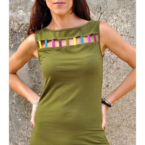 LITTLE MILITARY GREEN DRESS KODAC