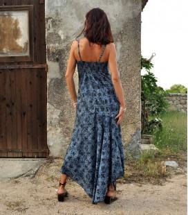 LONG RAYON MAXI DRESS