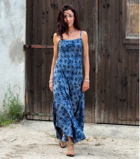 LONG RAYON MAXI DRESS