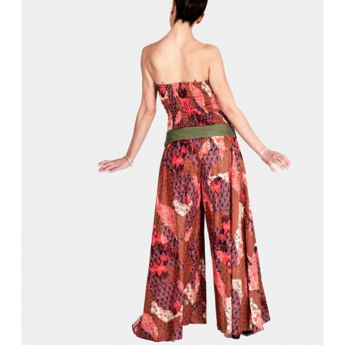 CORAL JUMPSUIT PALAZZO