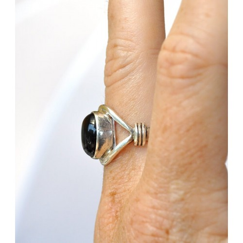 ONIX STERLING SILVER RING