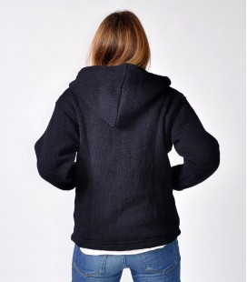 INDIGO WOOL JACKET