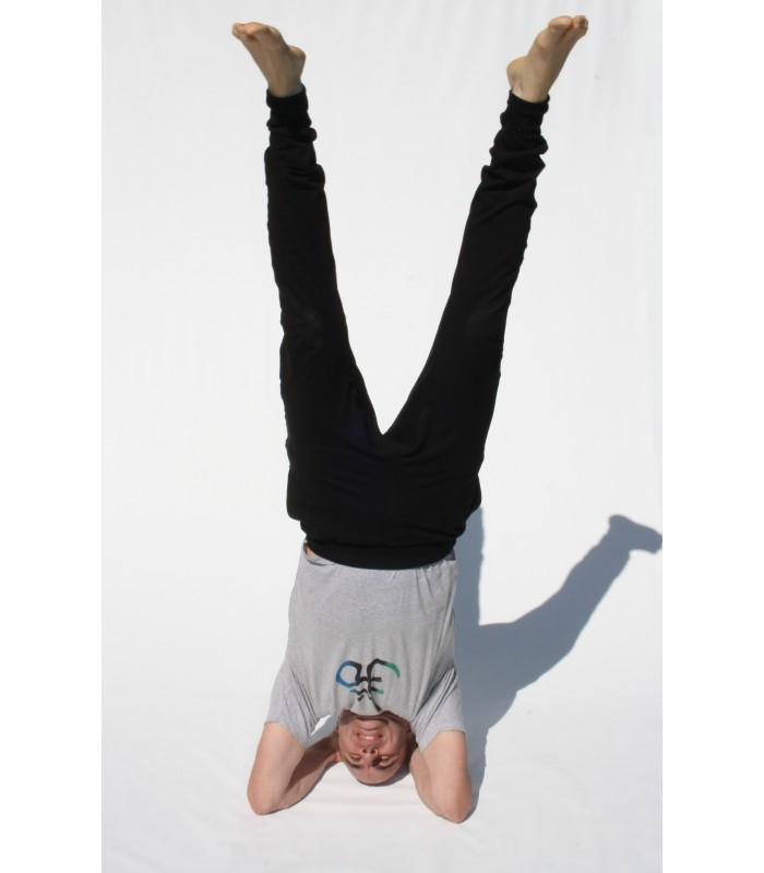 Pantalon De Yoga Para Hombre Tejido De Calidad Y Agradable Al Tacto